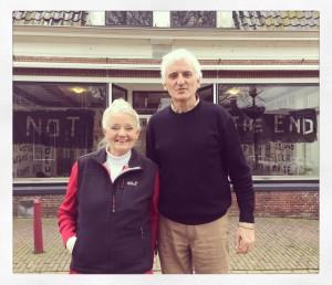Louwrien Wijers en Egon Hanfstingl